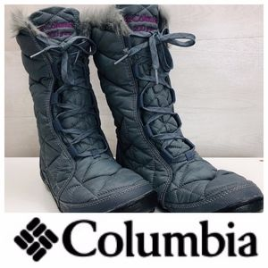 Columbia Waterproof Insulated Snow Boots 7.5